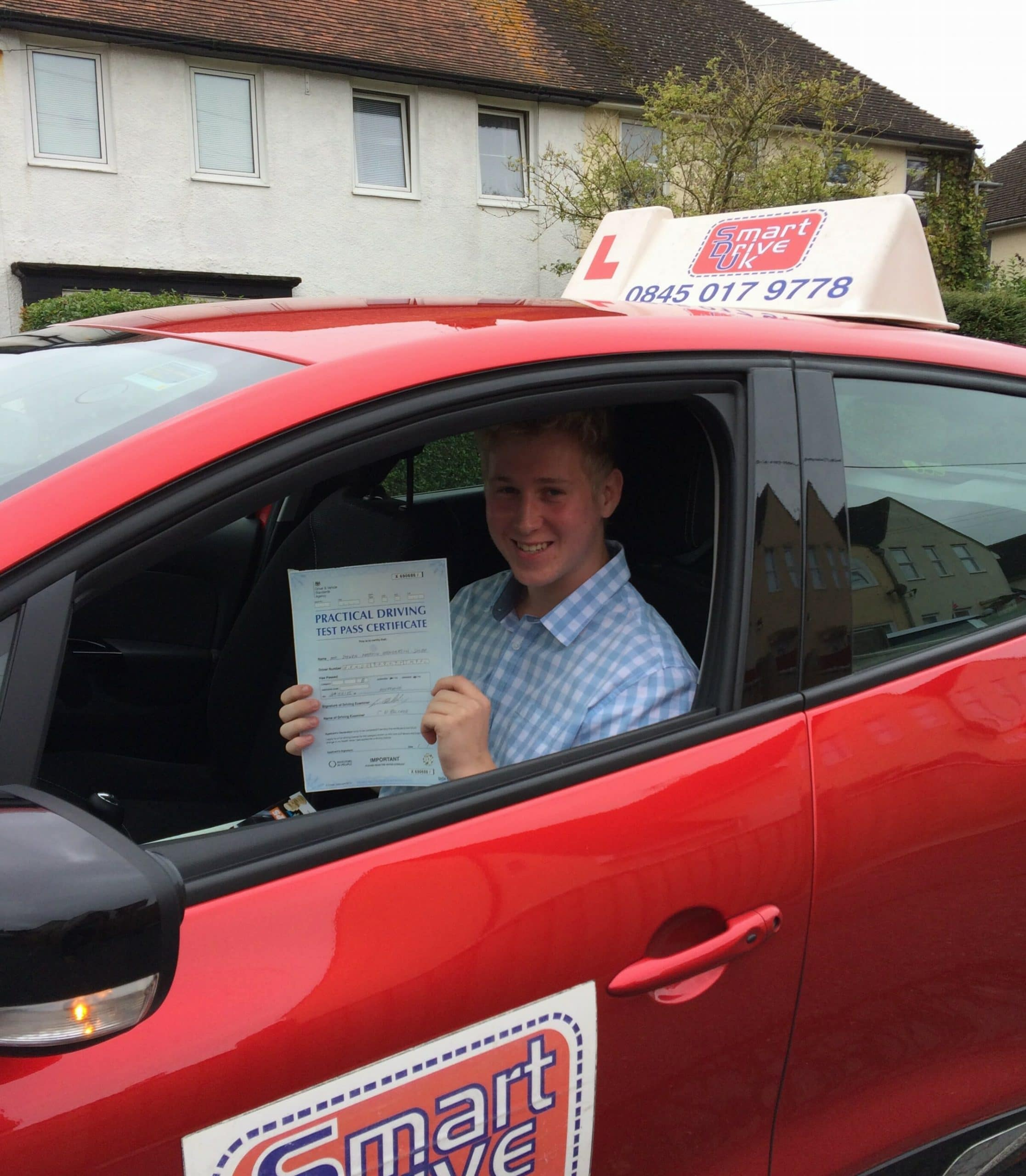 Congratulations to Steven from Worthing