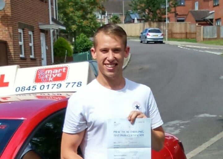 Congratulations to Aaron from Poole