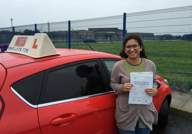 Congratulations to Nadia Dehghani from Fareham