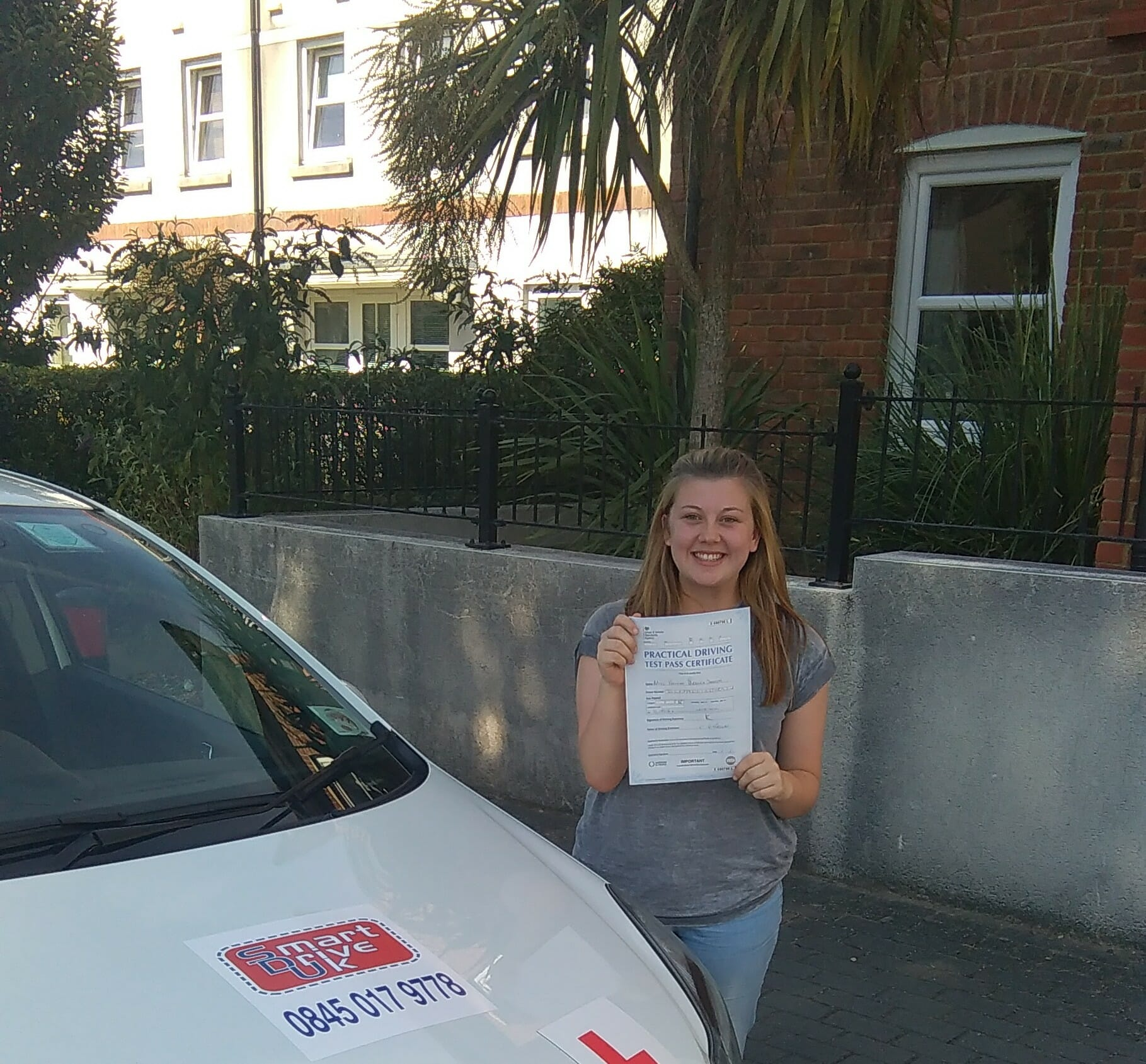 Congratulations to Hannah in Worthing