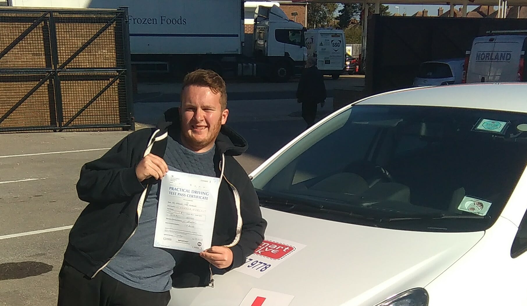 Congratulations to Brandyn from Lancing