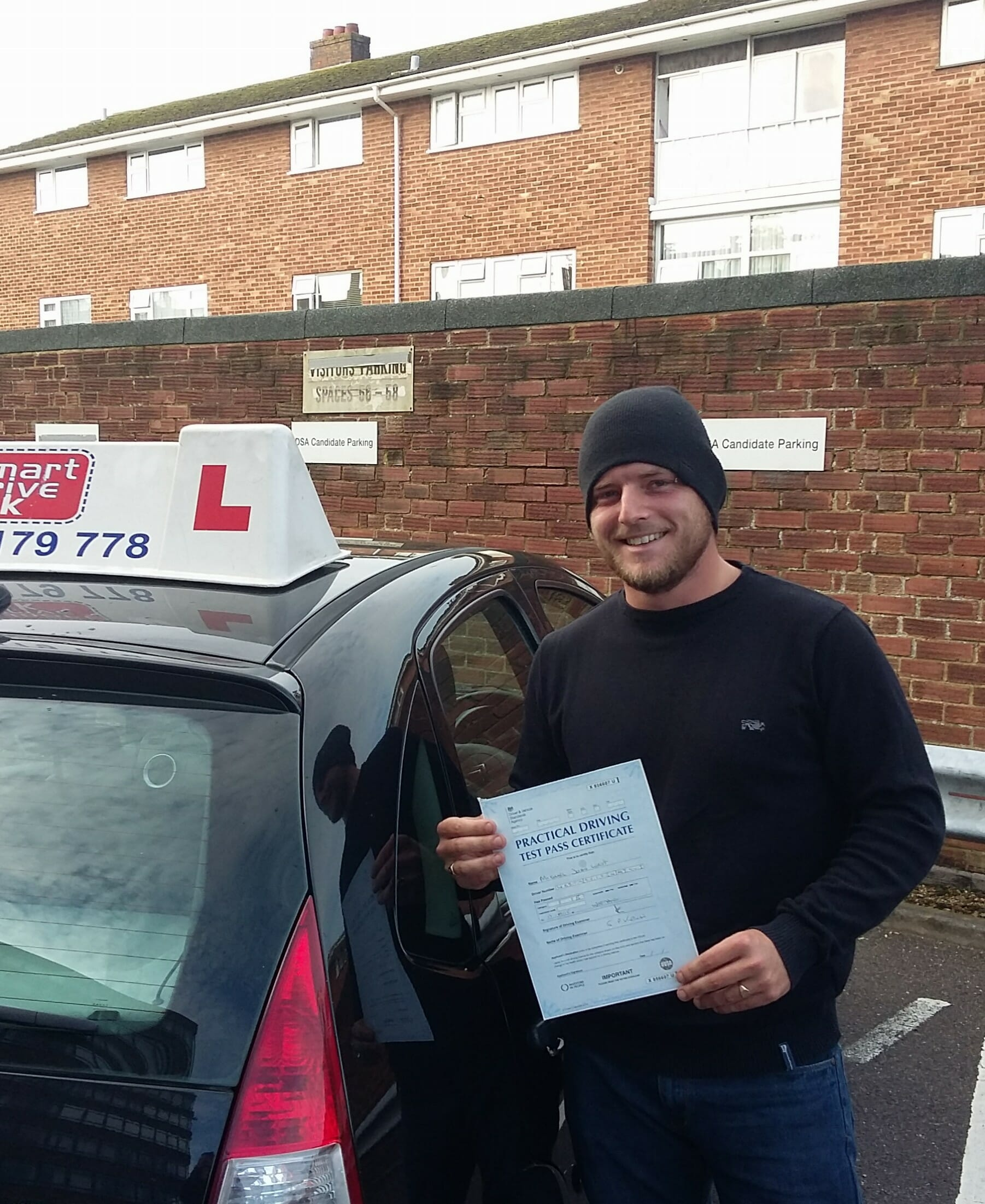 Congratulations to Mike West from Worthing