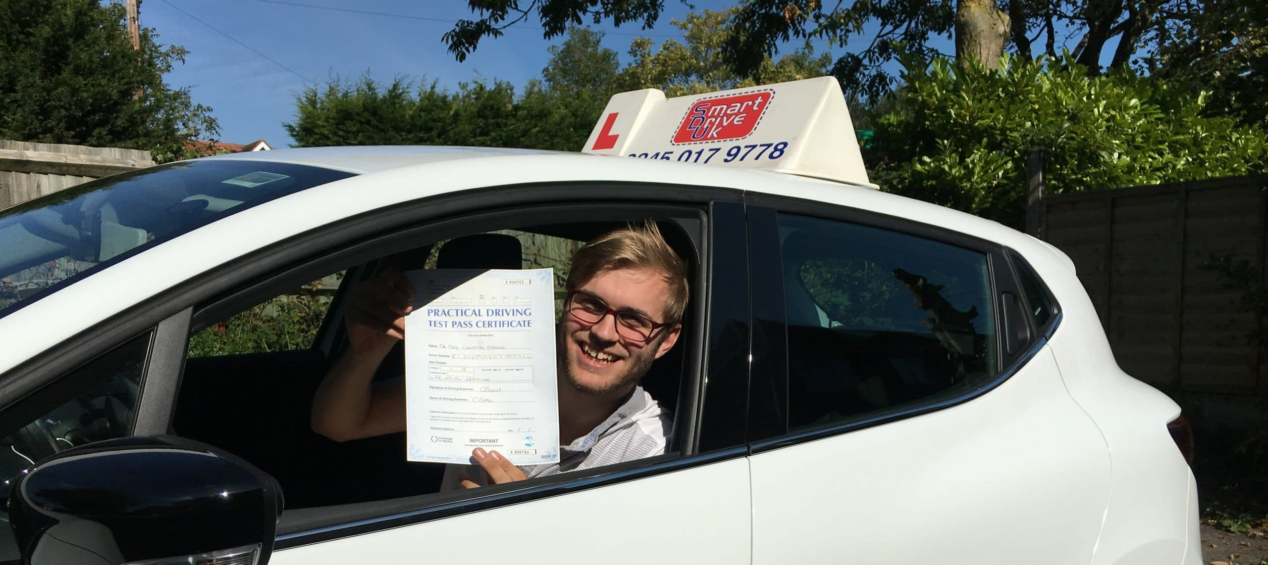 Congratulations to Max from Worthing