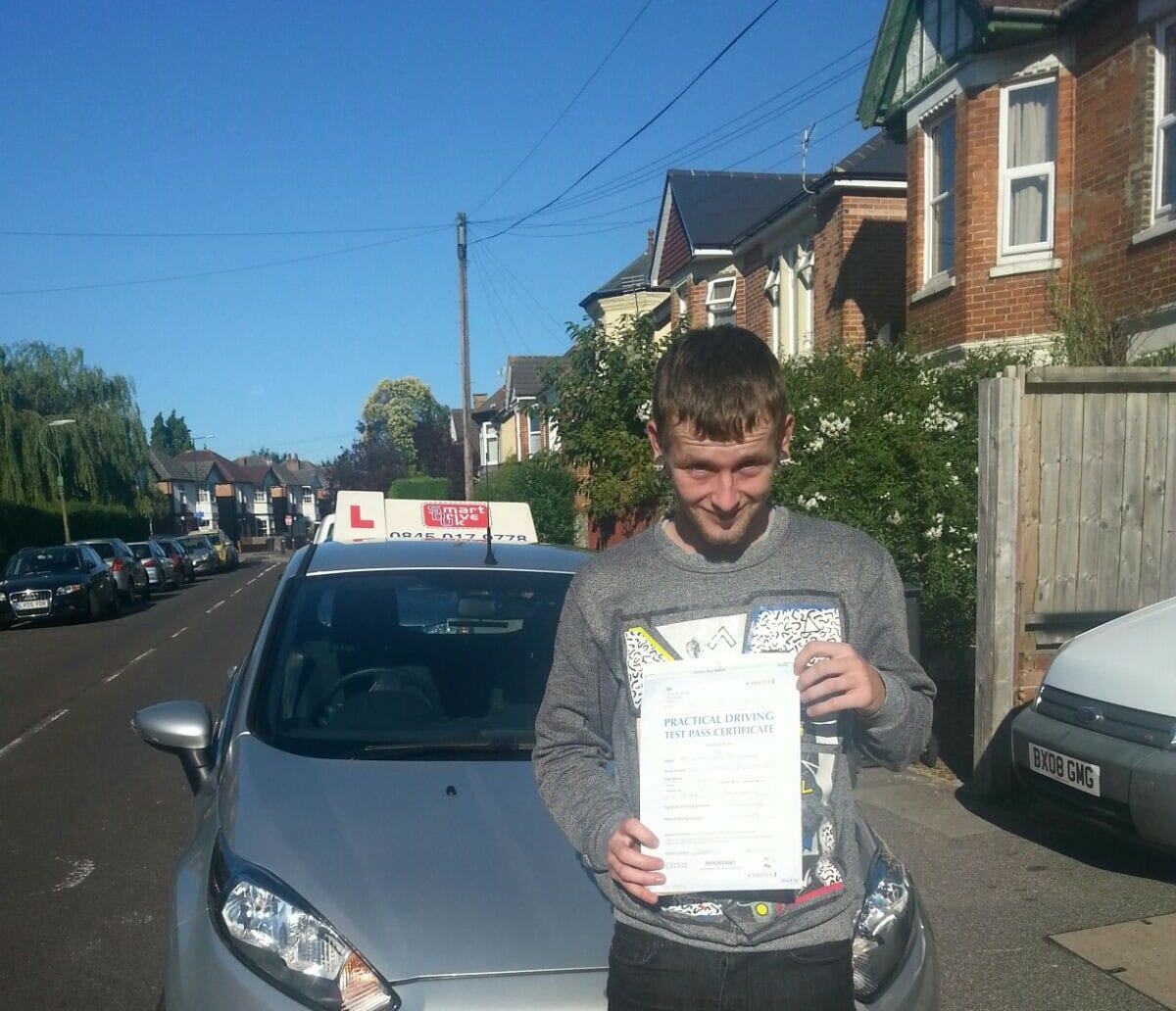 Congratulations to Liam from Bournemouth