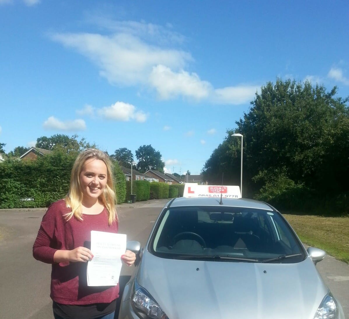 Congratulations to Anna from Bournemouth