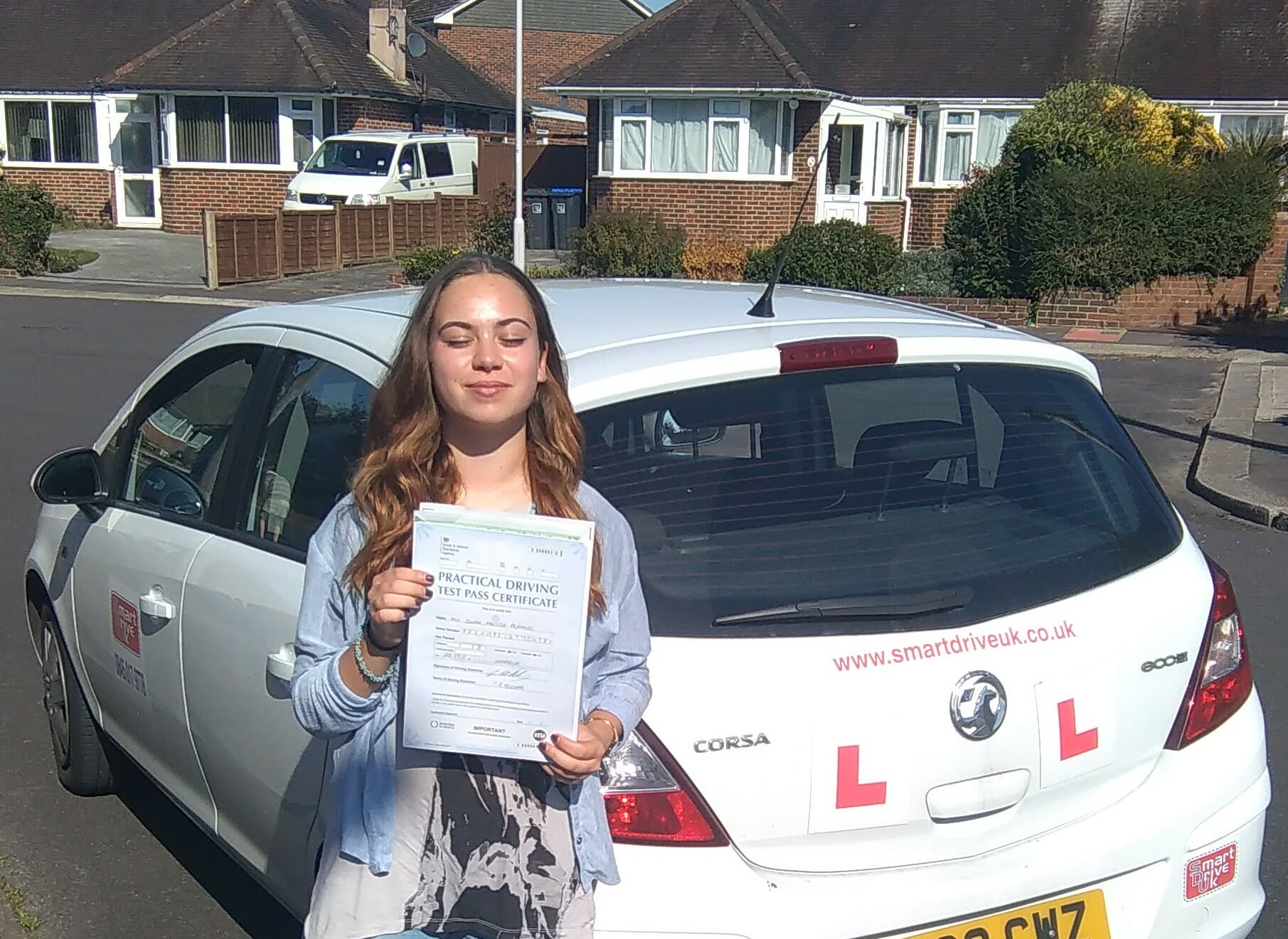 Congratulations to Sinem from Worthing