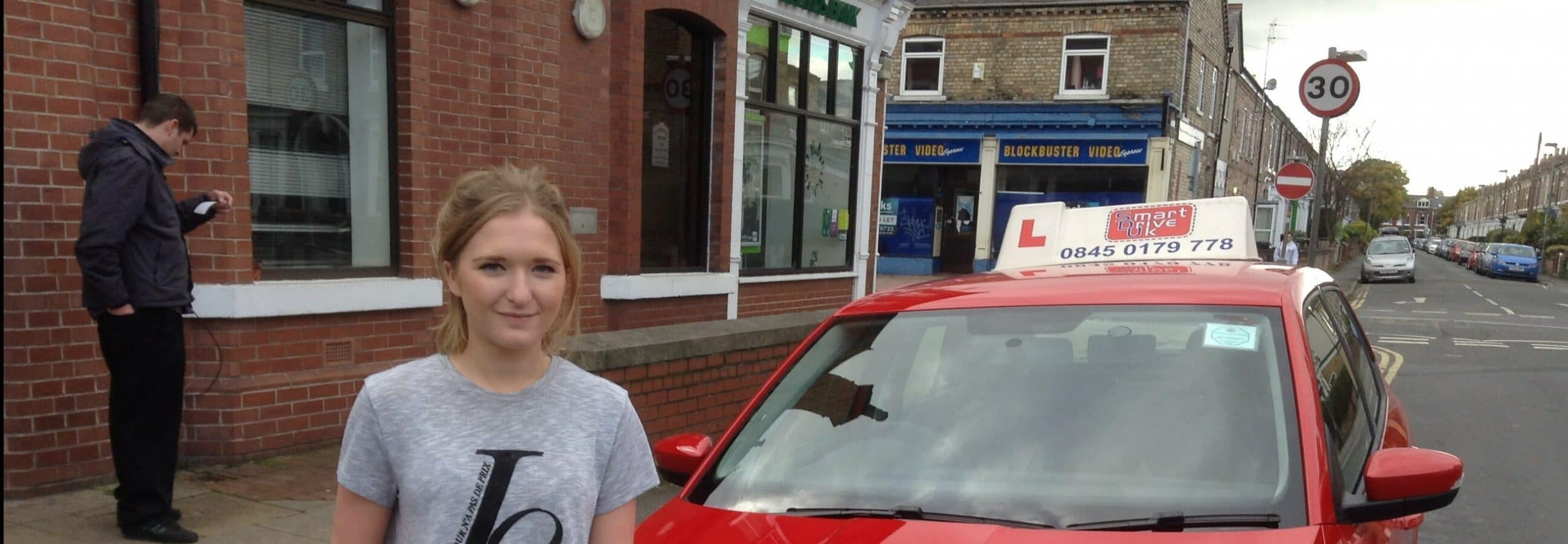 Congratulations to Stephanie Dobson of York. First Time Pass.