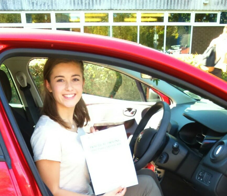 Congratulations to Abi Logan from Poole