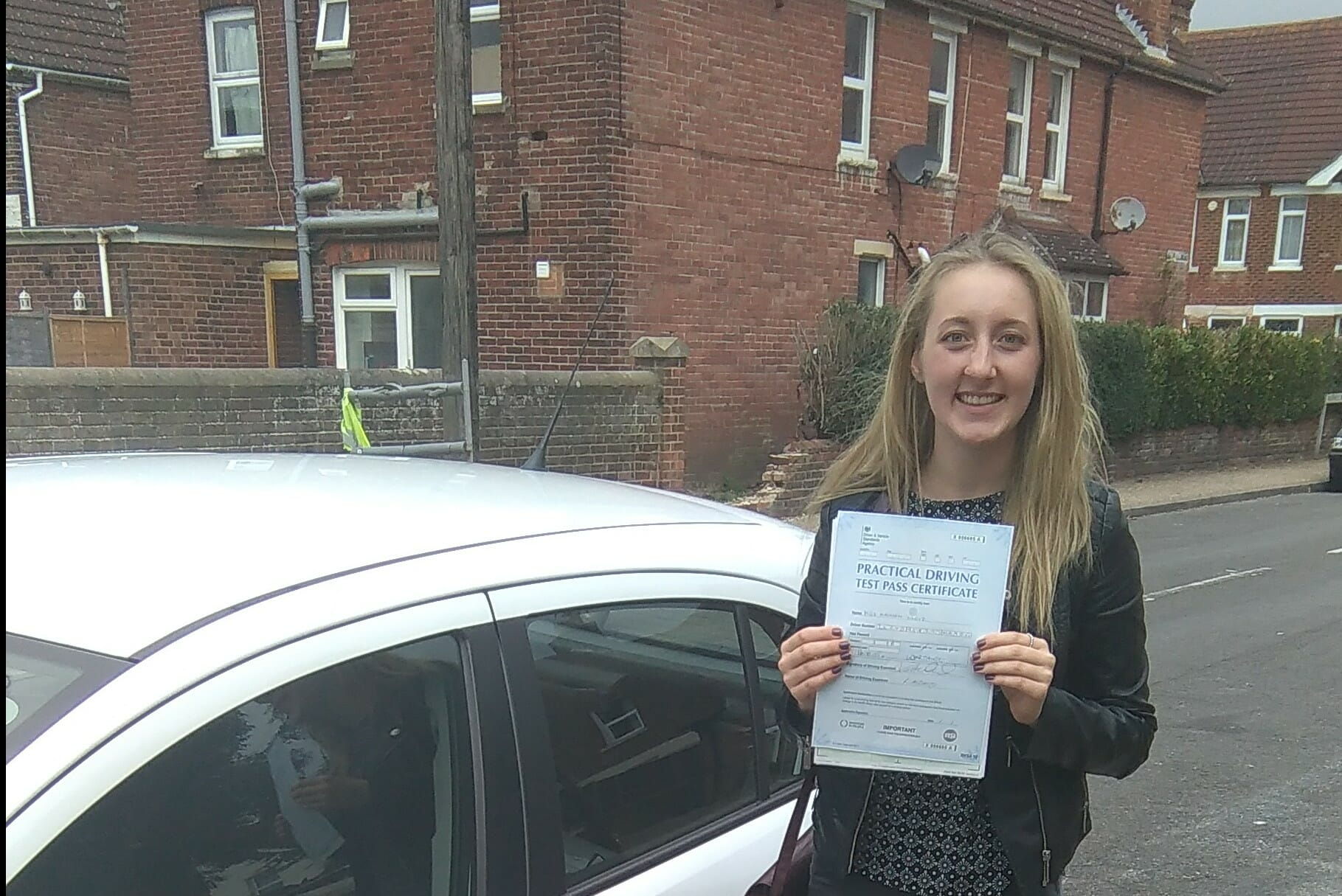 Well done to Madison of Littlehampton. First time pass.