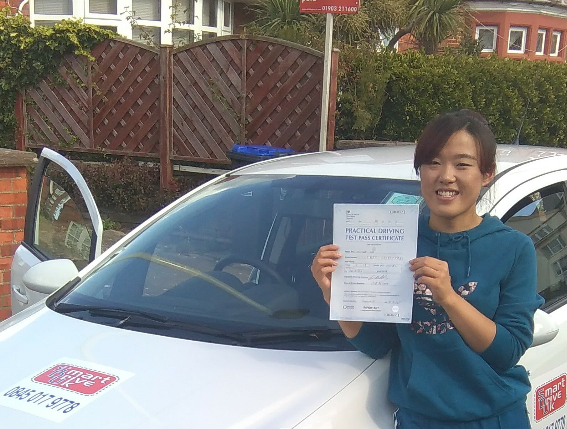 Well done to Xiaoming from Worthing