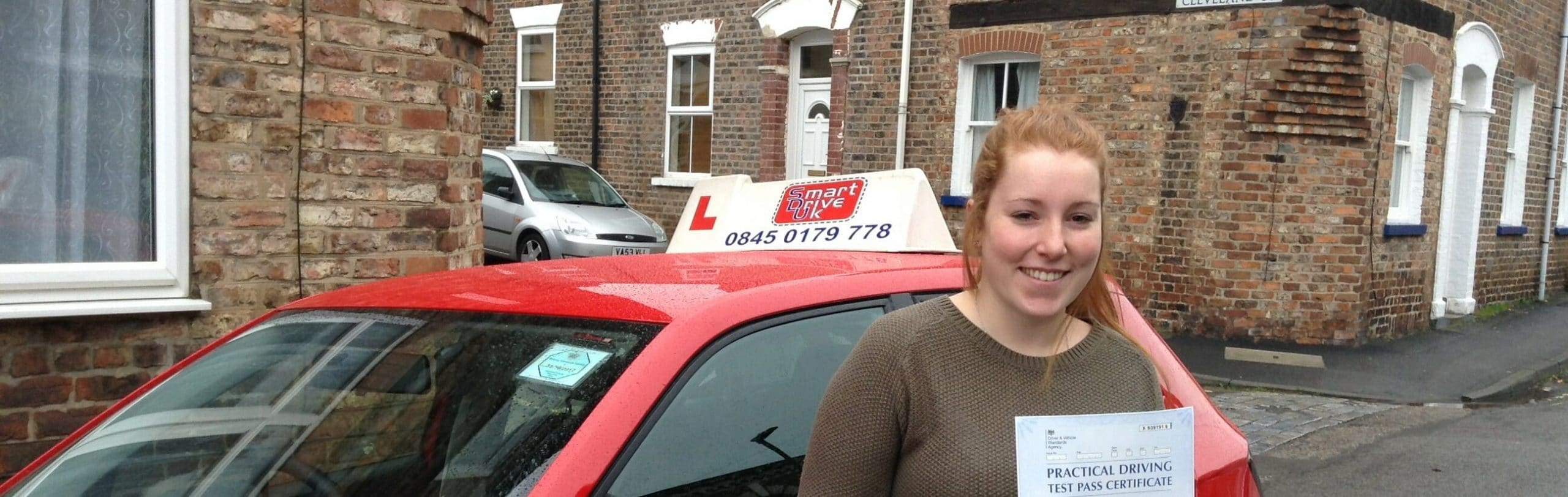 Congratulations to Cara Thompson of York. First Time Pass!!