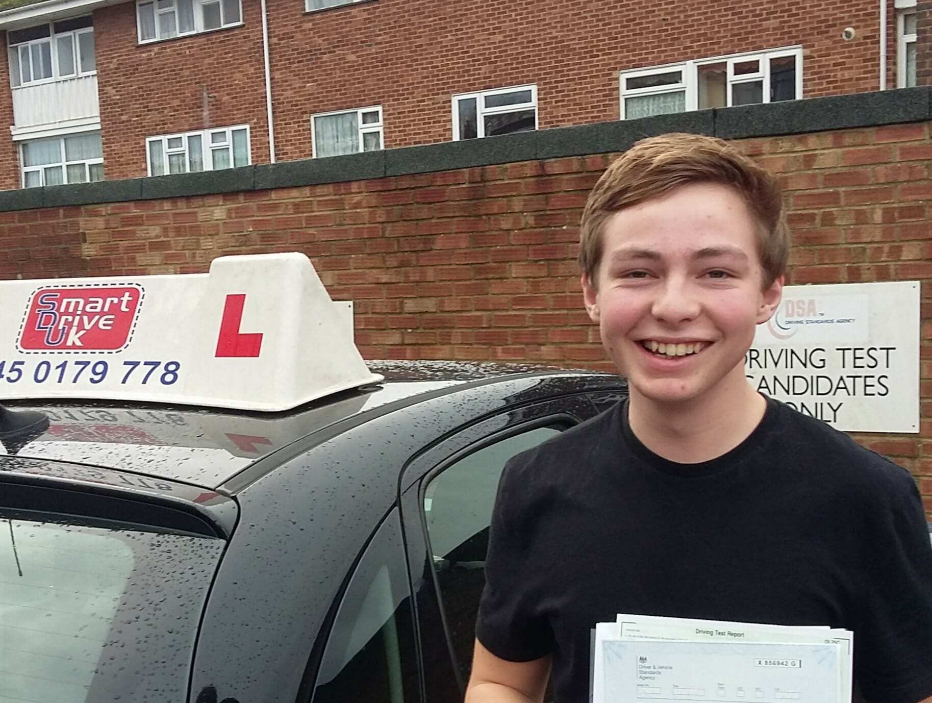 Congratulations to James Poll from Worthing. First Time Pass!!