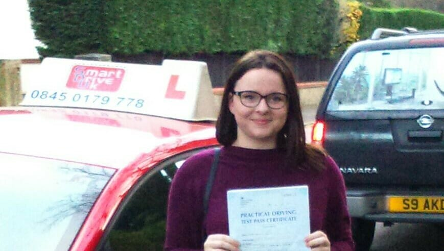 Well done to Laura Bevis from Bournemouth. First Time Pass !!