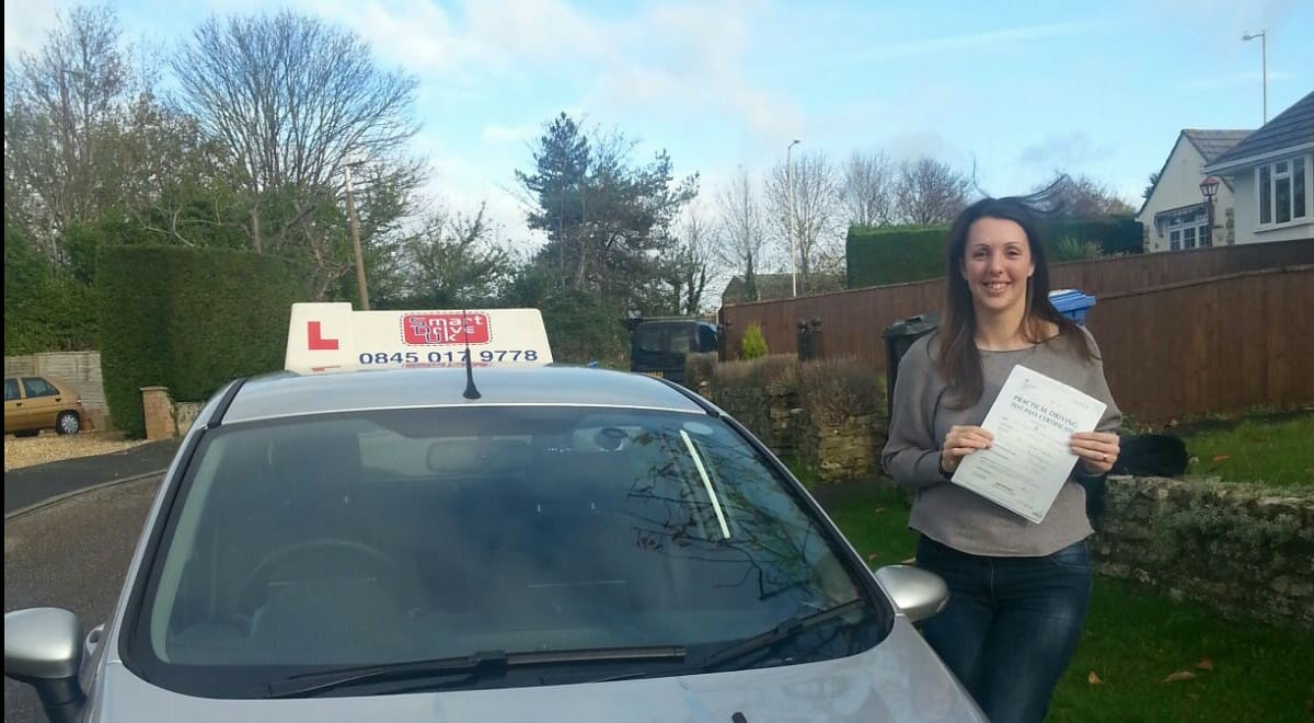 Congratulations to Jenny from Poole. First Time Pass !!