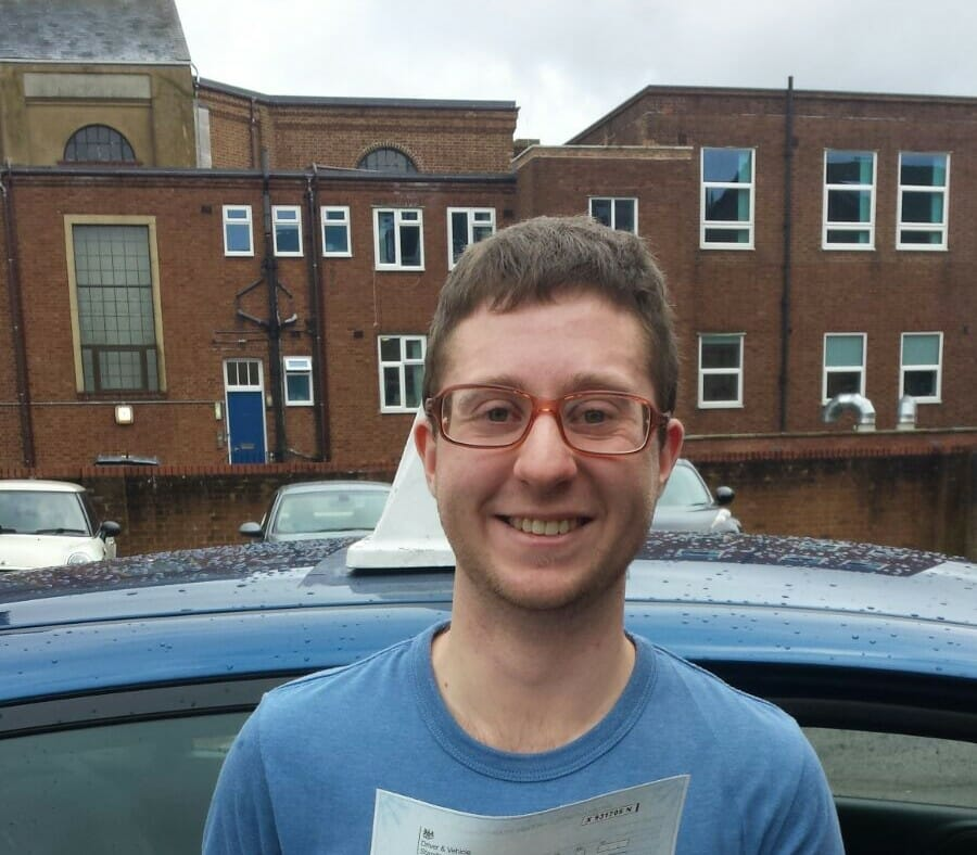 Driving Lessons Tonbridge. Well done Nathan Simmons from Tonbridge