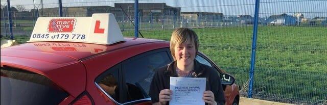 Congratulations to Zoe Hazel from Gosport. First Time Pass !!