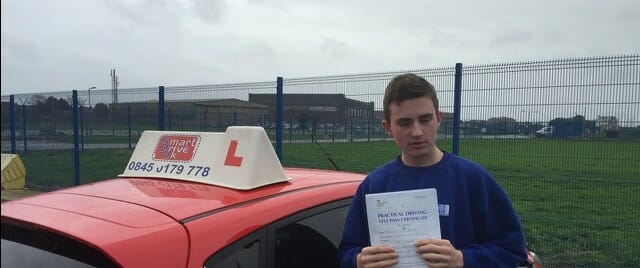 Congratulations Sam Munday from Portchester. First Time Pass!!