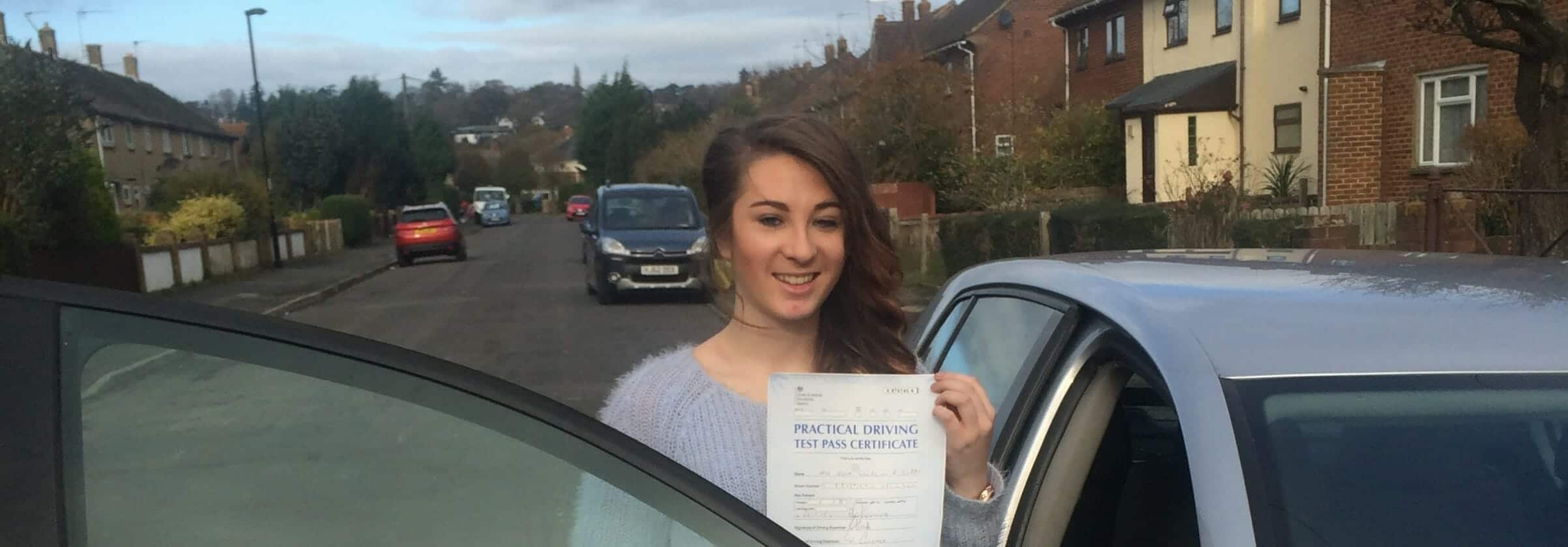 Congratulations to Ella Gibbs from Bournemouth, First Time Pass !!