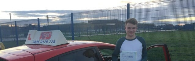 Well done to Will Cooke from Burseldon. First Time Pass!!