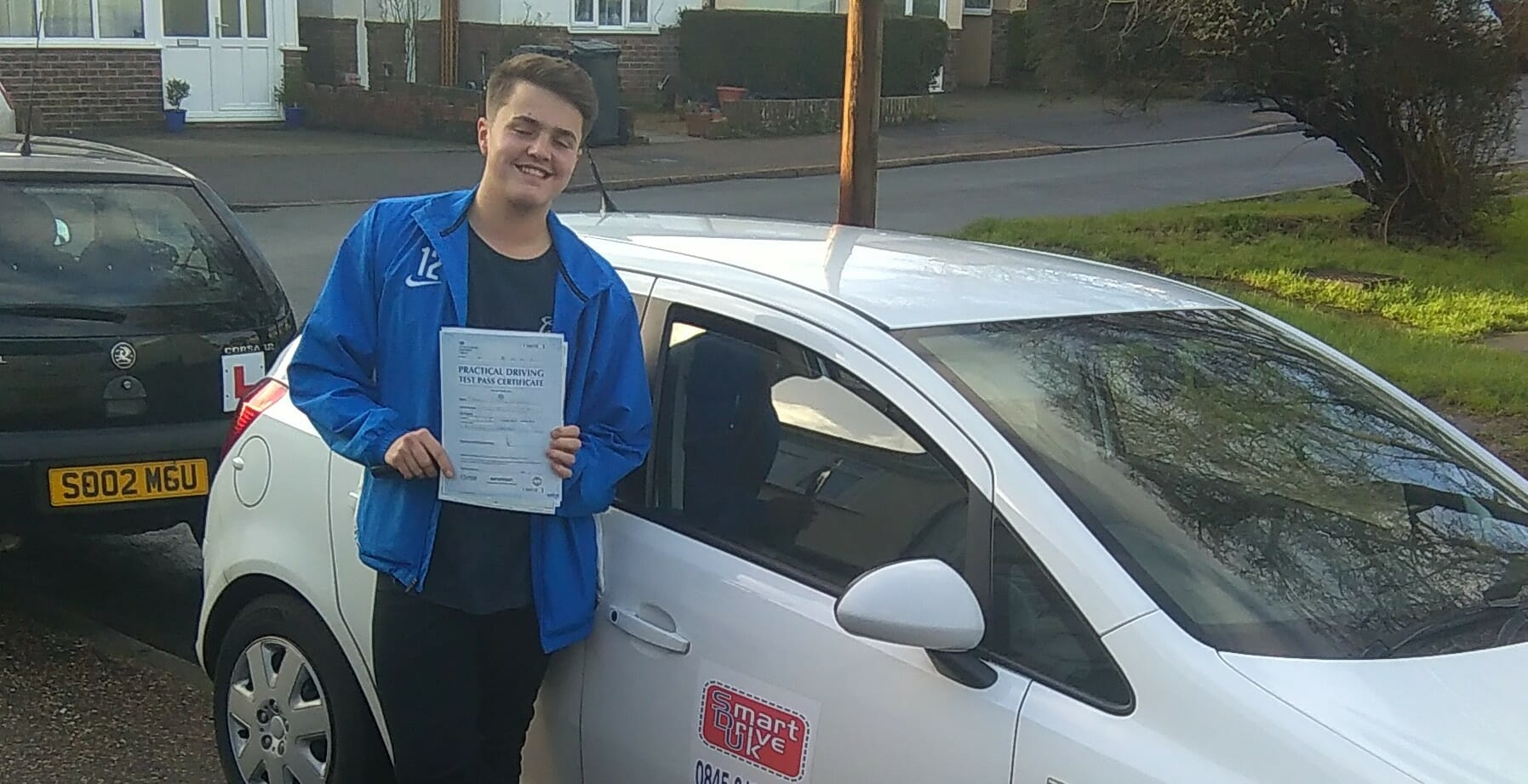 Congratulations to Charlie Stakim from Lancing. First Time Pass!!