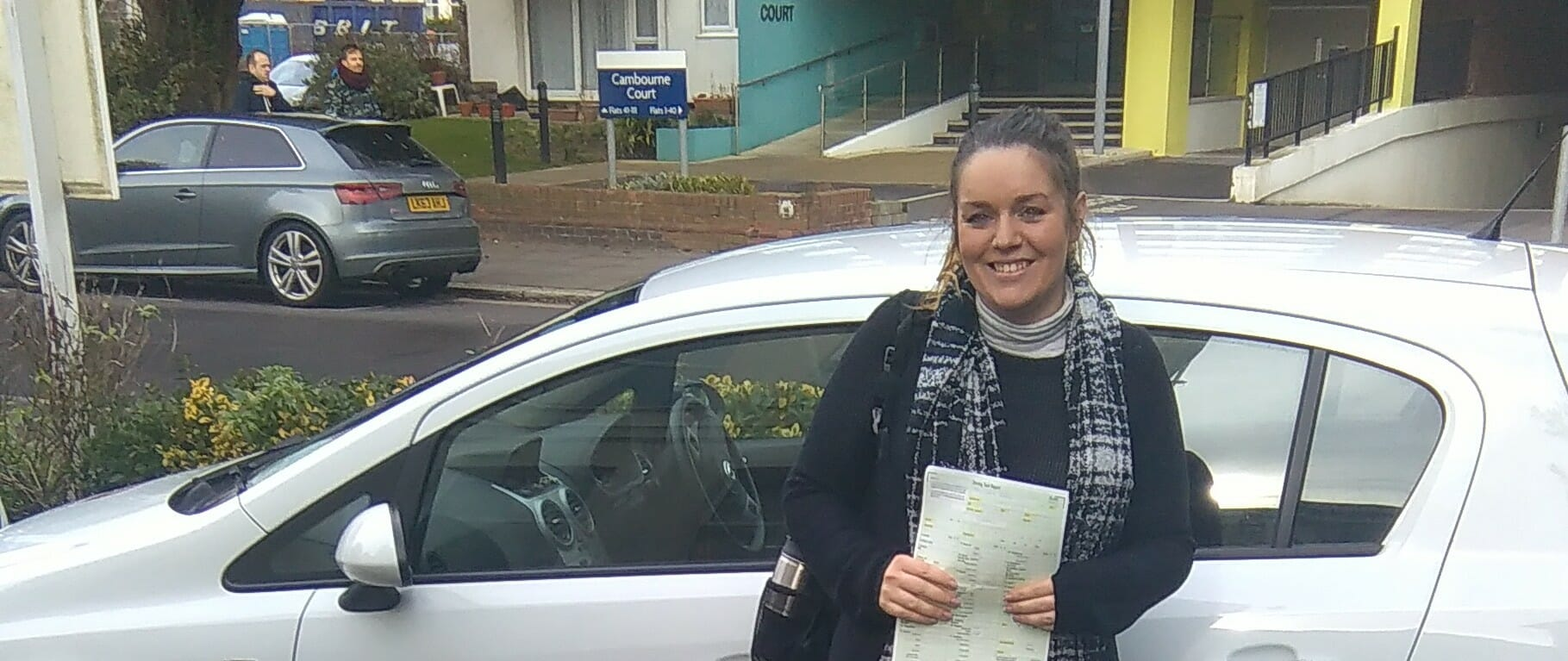 Congratulations to Jamie Rudge of Worthing. First Time Pass!!