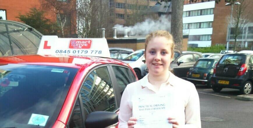 Congratulations Rebecca Martin from Poole