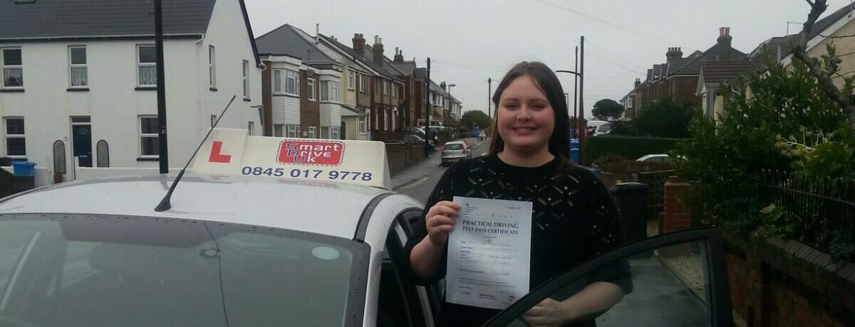 Well done to Sarah from Bournemouth. First Time Pass!!