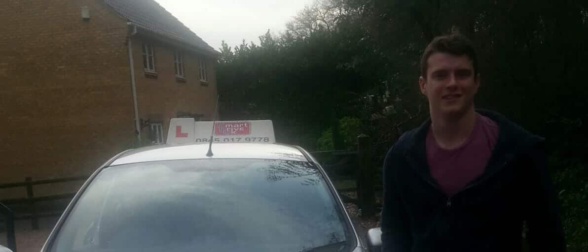 Well done to Bradley from Verwood. First Time Pass!!