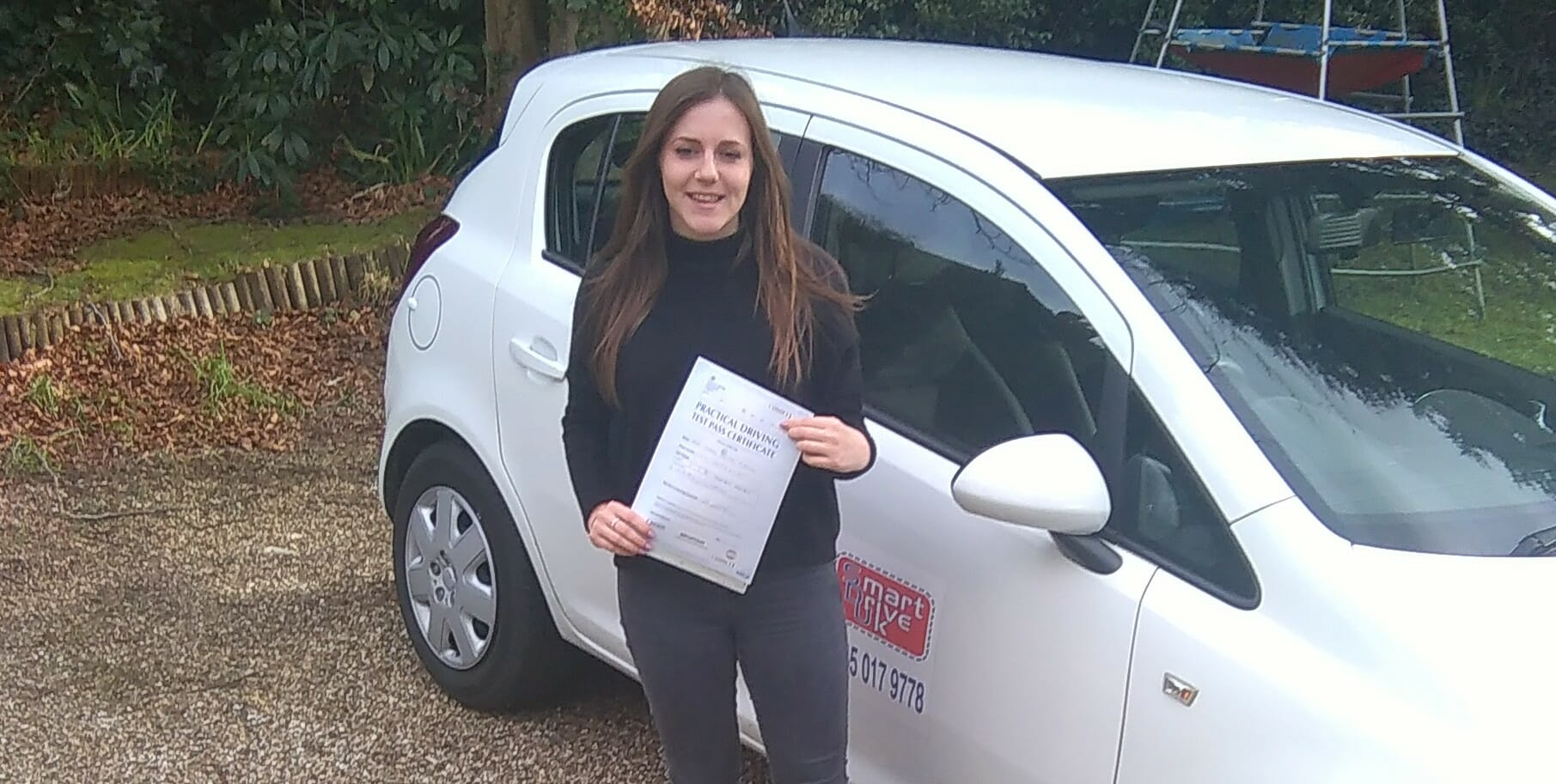 Congratulations to Caymen O'Reilly. First Time Pass!!