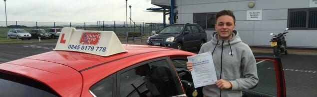 Well Done to Danny Knee from Titchfield. First Time Pass!!