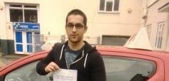 Well done Aleksandar Kostadinov from Bognor Regis. First Time Pass!!