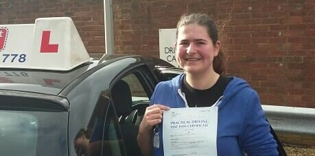 Well done to Deanna Giles from Lancing