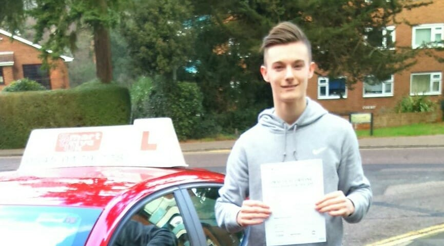 Well done to Ollie Boulton from Bournemouth. First time pass!!