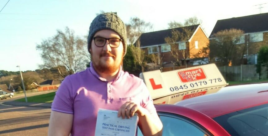 Well done to Ben Peake from Poole. First Time Pass!!