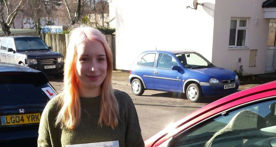 Congratulations to Jade Hunt from Poole