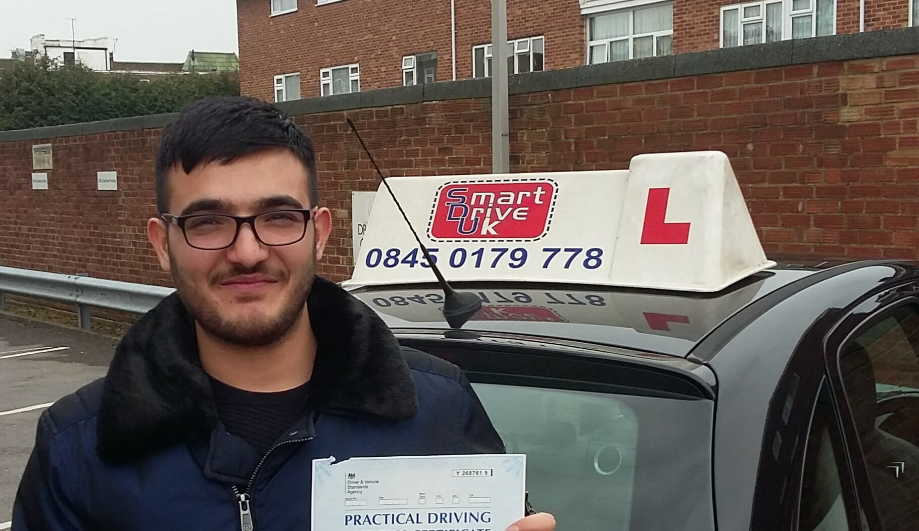 Congratulations to Irfan Mohammed from Worthing.