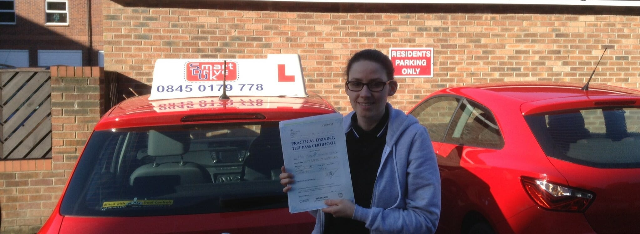 Congratulations to Jo Outram of York. First Time Pass!!