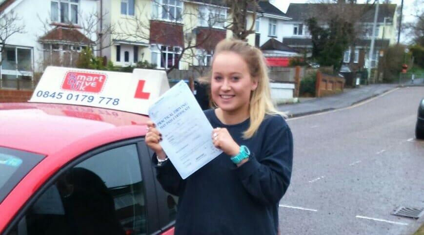 Well Done to Sarah Carter from Poole. First Time Pass!!