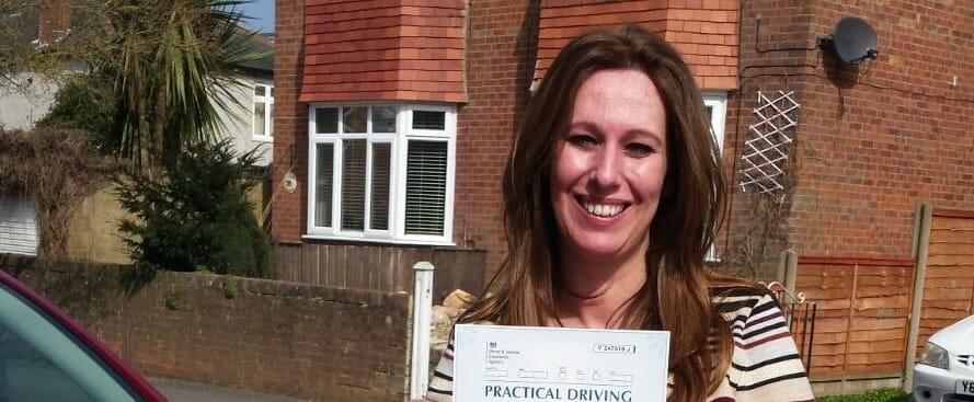 Congratulations to Nabila Namane from Bournemouth. First Time Pass!!