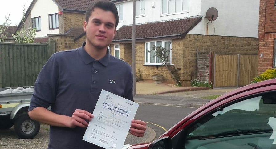 Congratulations to Seb Taghizadeh from Poole,