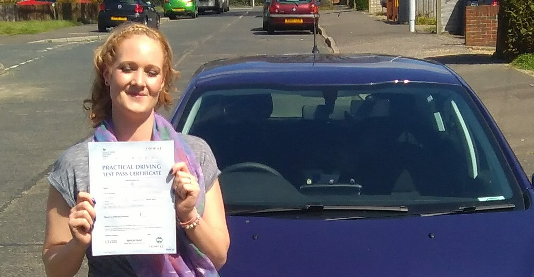 First Time Pass!! Congratulations to Sammy Button of Worthing.