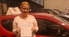 First Time Pass!! Congratulations to Amy Strudwick from Chichester