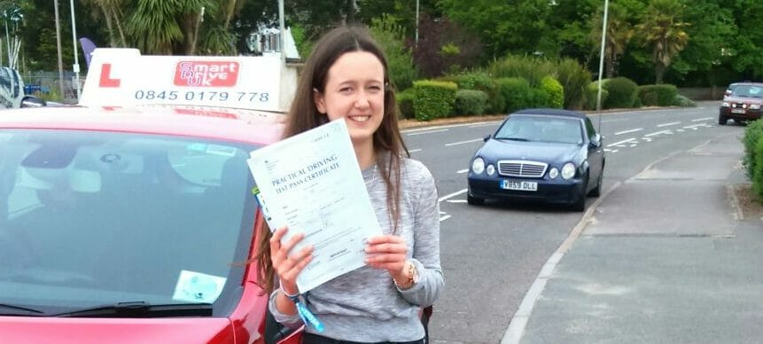 First Time Pass!! Congratulations to Rosie Alder from Poole