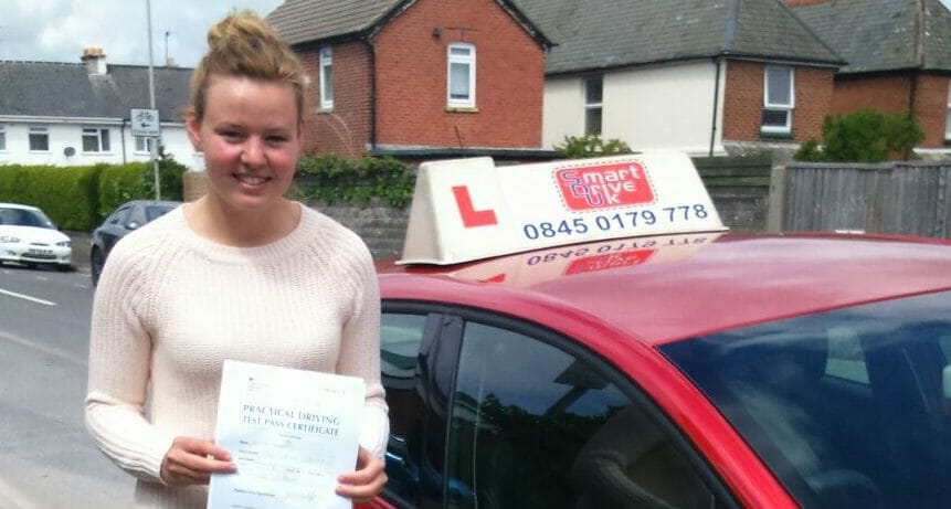 First Time Pass!! Congratulations to Ellis Marples from Poole