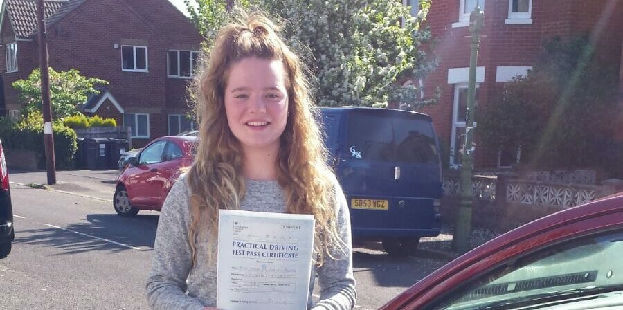 First Time Pass!! Congratulations to Lydia Attwell from Bournemouth
