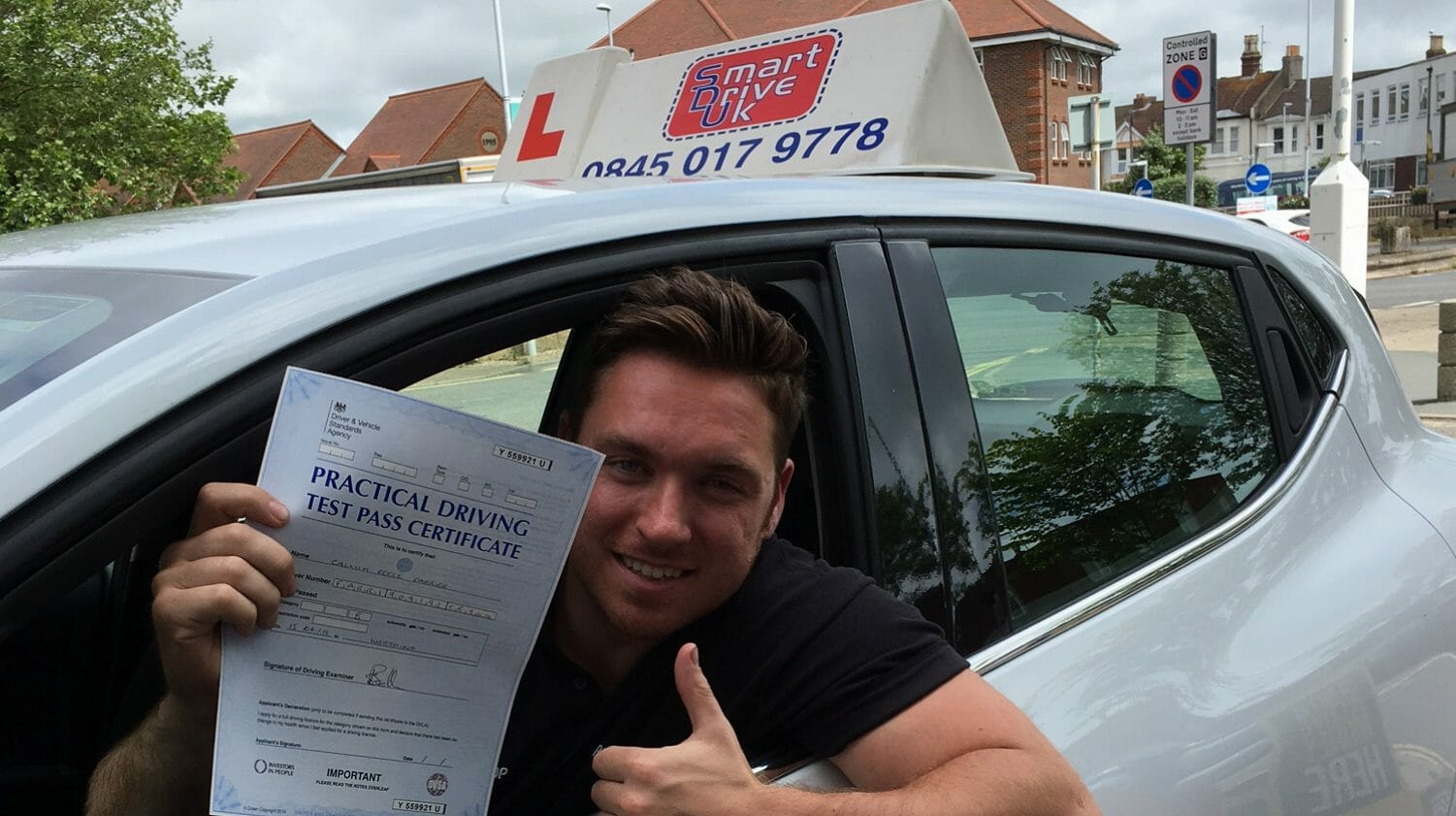First Time Pass!! Congratulations to Callum of Worthing.