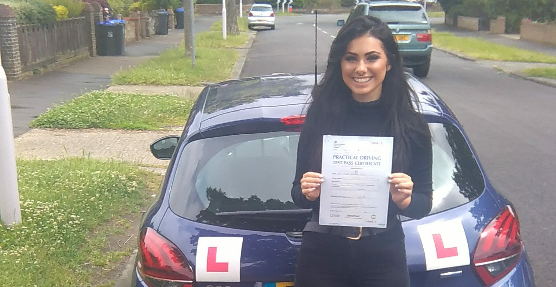 First Time Pass!! Well done to Isobel Mills of Worthing