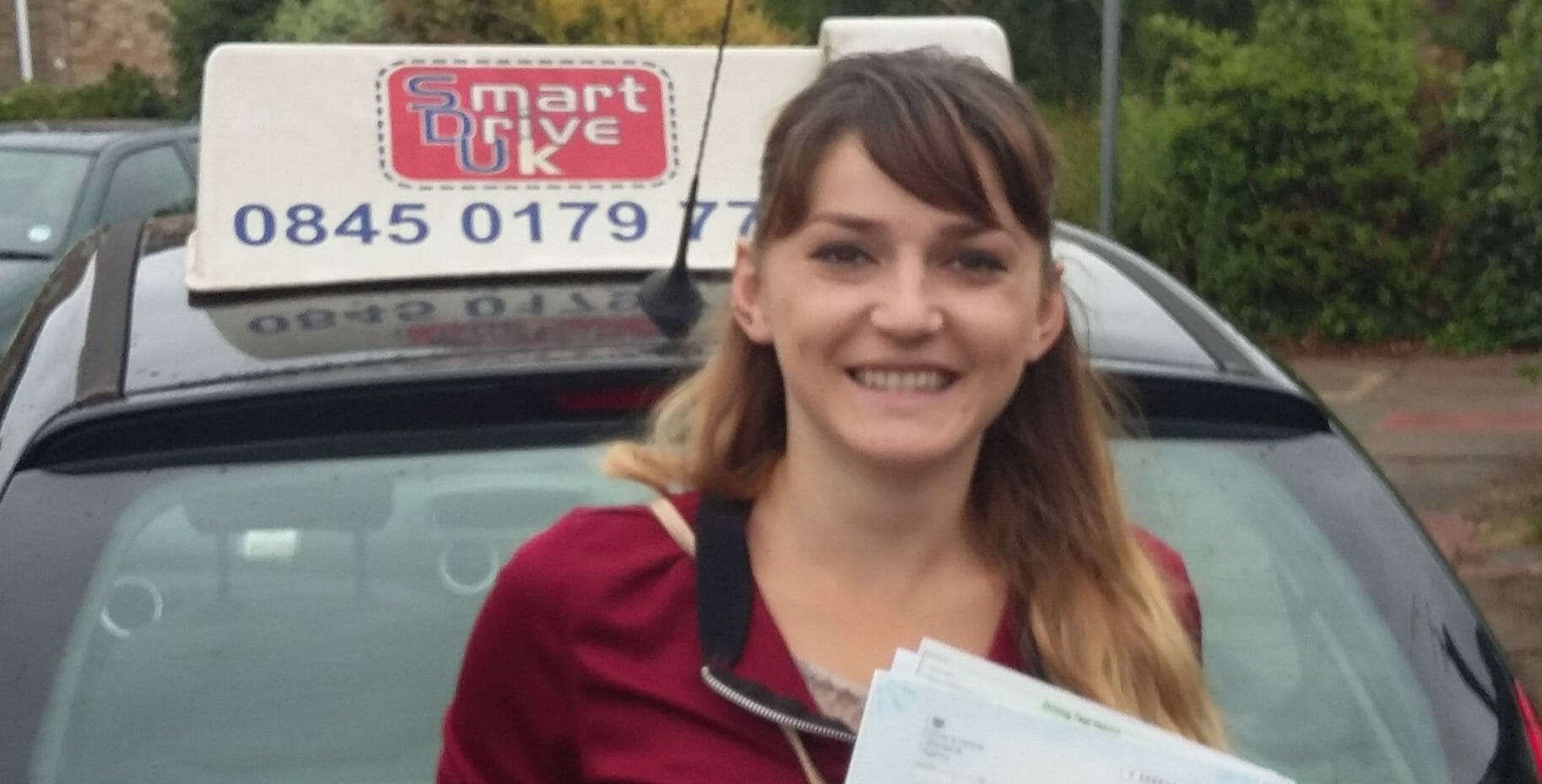 First Time Pass!! Jola Gradica from Worthing
