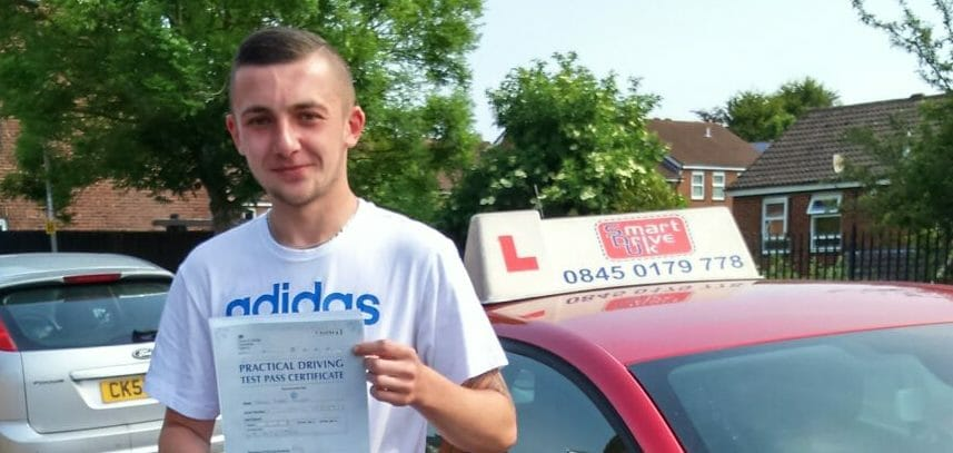 First Time Pass!!  Congratulations to James Allsop from Poole