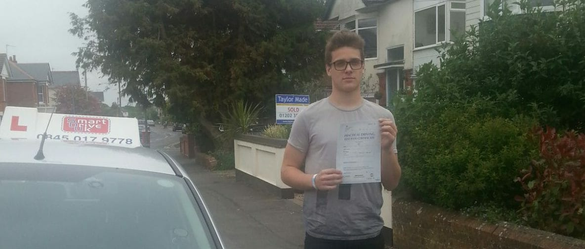 First Time Pass!! Well done to Sunny from Bournemouth